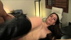 Shaved babe with amazing booty Zarena Summers has sex with reckless Talon